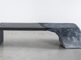 水泥与沙的整合:一个新颖的长凳设计