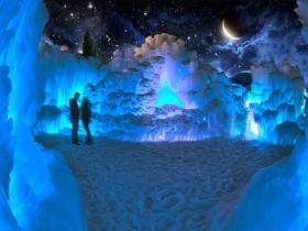加拿大冰中城堡