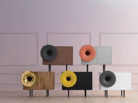 内置音乐播放器的喇叭柜:Kalusuo