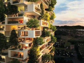 即将完工的垂直森林