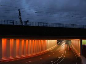 荷兰彩虹隧道