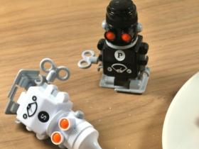 发条机器人盐椒瓶
