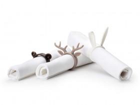 动物餐巾纸环:Napkin Zoo