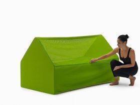 折叠气垫床