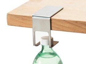 餐桌边缘便携瓶装水夹 Discreet