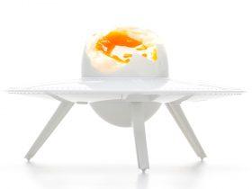 外星人飞碟鸡蛋托
