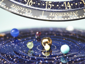 行星轨道表The Midnight Planetarium Timepiece